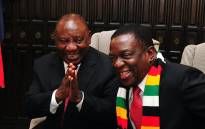 President Cyril Ramaphosa and Zimbabwean President Emmerson Mnangagwa during Bi-National Commission held in Harare. Picture: Dirco.
