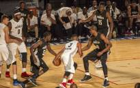 NBA stars strut their stuff in the 2017 NBA Africa Game at the Ticketpro Dome in Johannesburg, South Africa. Pictures: Thomas Holder/EWN