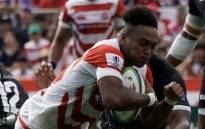 The Brave Blossoms bagged five tries to Fiji's three in their opening match of the Pacific Nations Cup on 27 July 2019. Picture: Twitter/@rugbyworldcup