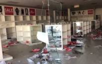 A screengrab of a looted retail store at the Diepkloof Square Mall on 14 July 2021.