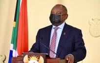 President Cyril Ramaphosa during his address on 27 June 2021 where he announced the country would be moving to adjusted alert level 4 as the third wave of coronavirus pandemic grips the country. Picture: GCIS