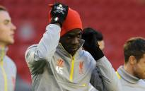 FILE:Liverpool forward, Mario Balotelli at training session with his team mates as they prepare for the Champions League clash against Real Madrid. Picture: Official Liverpool Facebook page.
