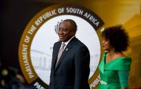 President Cyril Ramaphosa and Speaker of the National Assembly Baleka Mbete make their way to the State of The Nation Address in Parliament, Cape Town. Picture: GCIS.