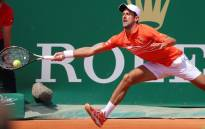 World number one Novak Djokovic in action against  Russia's Daniil Medvedev during their Monte Carlo Masters quarterfinals clash. Picture: @ROLEXMCMASTERS/Twitter.