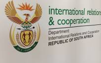The Department of International Relations & Cooperation held a press conference regarding the political tensions in Lesotho on Saturday 30 August 2014. Picture: Reinart Toerien/EWN.