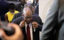 Former President Jacob Zuma arrives at the state capture commission of inquiry in Johannesburg on 16 November 2020. Picture: Xanderleigh Dookey/EWN.