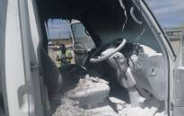 A lorry has been petrol bombed in Eerste River on 19 October 2020. picture: City of Cape Town