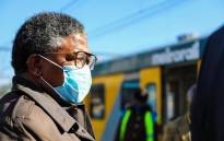 Transport Minister Fikile Mbalula inspecting a Metrorail train's readiness on Tuesday, 30 June 2020. Picture: @MbalulaFikile/Twitter
