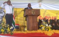 President Cyril Ramaphosa delivers the Youth Day keynote address in Polokwane. Picture: GCIS.