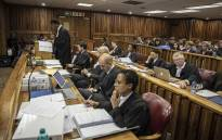 Advocate Tembeka Ngcukaitobi argues for the Nelson Mandela Foundation on why the old South African flag should be banned as it constitutes hate speech in the Johannesburg Equality Court. Picture: Thomas Holder/EWN
