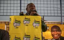 President Cyril Ramaphosa addresses residents in Mitchells Plain during an ANC election rally in Cape Town on 3 May. Picture: Cindy Archillies/EWN