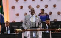 Gauteng Premier David Makhura delivers his last State of the Province Address at Alberton Civic Centre, Ekurhuleni, on 18 February 2019. Picture: @GautengProvince/Twitter
