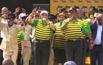 President Jacob Zuma at the ANC's election manifesto on 16 April, 2016. Picture: Vumani Mkhize/EWN.