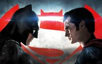 FILE: A poster for 'Batman v Superman: Dawn of Justice'