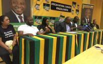 The KZN ANC introduces former DA members who defected to the party on 24 October 2019. Picture: Nkosikhona Duma/EWN