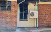 A fire at the FH Odendaal Hospital in Modimolle in Limpopo on 4 May 2021 claimed the lives of two patients. Picture: Supplied