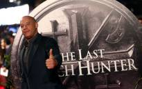 """US actor Vin Diesel arrives on the red carpet to attend the European premiere of the film """"The Last Witch Hunter"""" in London on October 19, 2015. Picture: AFP."""
