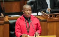 Economic Freedom Fighters leader Julius Malema debating the State of the Nation address on 25 July 2019. Picture: GCIS.