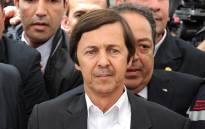 This file photo taken on May 19, 2012 shows Said Bouteflika (front), brother of late Algerian President. Picture: Farouk Batiche / AFP