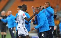 BidVest Wits players celebrate a win. Picture: @BidvestWits/Twitter