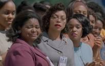 A screengrab shows 'Hidden Figures' actresses Octavia Spencer (L), Taraji P. Henson (C) and Janelle Monáe (R). Picture: youtube.com