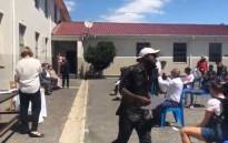 A screenshot of Elswood High School that became a centre of hope for all the learners who set foot on their school grounds; with the class of 2020 achieving 84% pass rate. Picture: Graig-Lee Smith/Eyewitness News.
