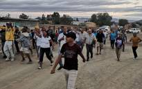 Calvinia residents march against drugs on 19 January 2020. Picture: Supplied