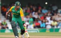Former South African cricketer Jacques Kallis runs safe during the second one-day International match between South Africa and Sri Lanka at the Buffalo Park in East London on January 14, 2012. Picture: AFP