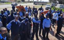 Golden Arrow staff held a demonstration at the Arrogate Depot in Montana, in Cape Town on 22 September 2020. Picture: Supplied
