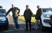 'The Grand Tour' presenters Jeremy Clarkson, Richard Hammond and James May. Picture: @Thegrandtour/Twitter