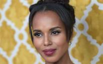 FILE: Actress Kerry Washington attends the premiere of 'Confirmation' on 31 March 2016 in Hollywood, California. Picture: AFP.