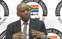 A YouTube screen grab of Elijah Mazibuko testifying at the state capture commission of inquiry on 7 June 2018.