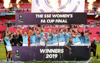 The fifth Women's FA Cup final to be played at Wembley. Picture: Twitter @ManCity.