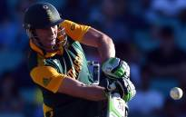 Proteas captain AB de Villiers. Picture: AFP