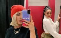 Kylie Jenner and Jordyn Woods. Picture: @kyliejenner/Twitter