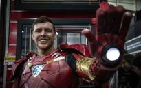 Gerrie Venter cosplays as Iron Man at Comic Con Africa 2019. Picture: Abigail Javier/EWN.