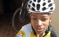 Road cyclist Zanele Tshoko. Picture: Facebook.