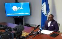 DA Western Cape leader Bonginkosi Madikizela. Picture: @WesternCapeDA/Twitter
