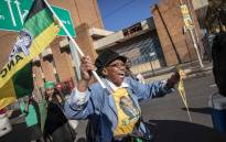 ANC supporters arrive at Ellis Park Stadium for the ANC Siyanqoba Rally in buses. Picture: Thomas Holder/EWN.