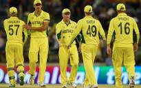 FILE: The Australian cricket team. Picture: AFP