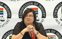Former Free State Finance MEC Elizabeth Rockman. Picture: YouTube screengrab.