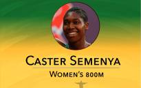 Caster Semenya ran a nation record time to win gold at the Rio 2016 games.