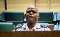 Acting National Police Commissioner Khomotso Phahlane listens to questions during an update on the #Fees2017 protests in Pretoria on 10 October 2016. Picture: Reinart Toerien