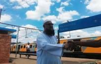 Gauteng Transport MEC Ishmael Vadi at the scene of the train crash at Mountainview station in Pretoria on 8 January 2019. Picture: Kayleen Morgan/EWN