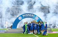 Chelsea secured a tense 1-0 victory over Manchester City in Saturday's final in Porto. Picture: Twitter/@ChelseaFC