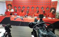 The SACP held a press briefing in Johannesburg on 24 February 2019 following its 7th central plenary meeting. Picture: @SACP1921/Twitter