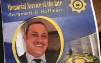 Sergeant David Hoffman. Picture: Shamiela Fisher/EWN
