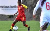 Ghana's Black Queens midfielder Juliet Acheampong. Picture: @Team_GhanaWomen/Twitter.