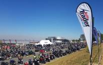 A view of motorbikes at Kyalami Grand Prix Circuit during the AutoTrader SA Bike Festival. Picture: @AutoTraderSA/Twitter.