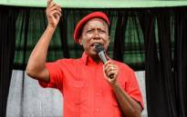 EFF leader Julius Malema campaigns in Limpopo on 28 April 2019. Picture: @EFFSouthAfrica/twitter.